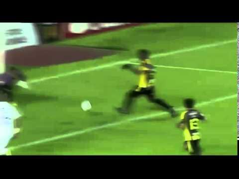 The Strongest 2 x 1 Atlético-PR - O gol de Adriano narrado por Caio Jr. - Banda B