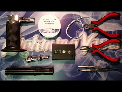 Kanger Protank 3 Dual Coil BDC Atomizer Rebuild Tutuorial HD Close Up