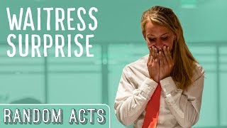 Strangers Tip a Waitress $4000! - Random Acts