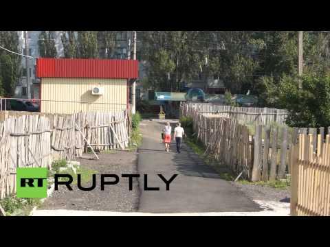 Ukraine: Slavyansk residents pray for peace amid shelling