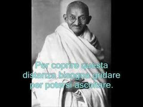 Mahatma Gandhi - Le parole, Italiano