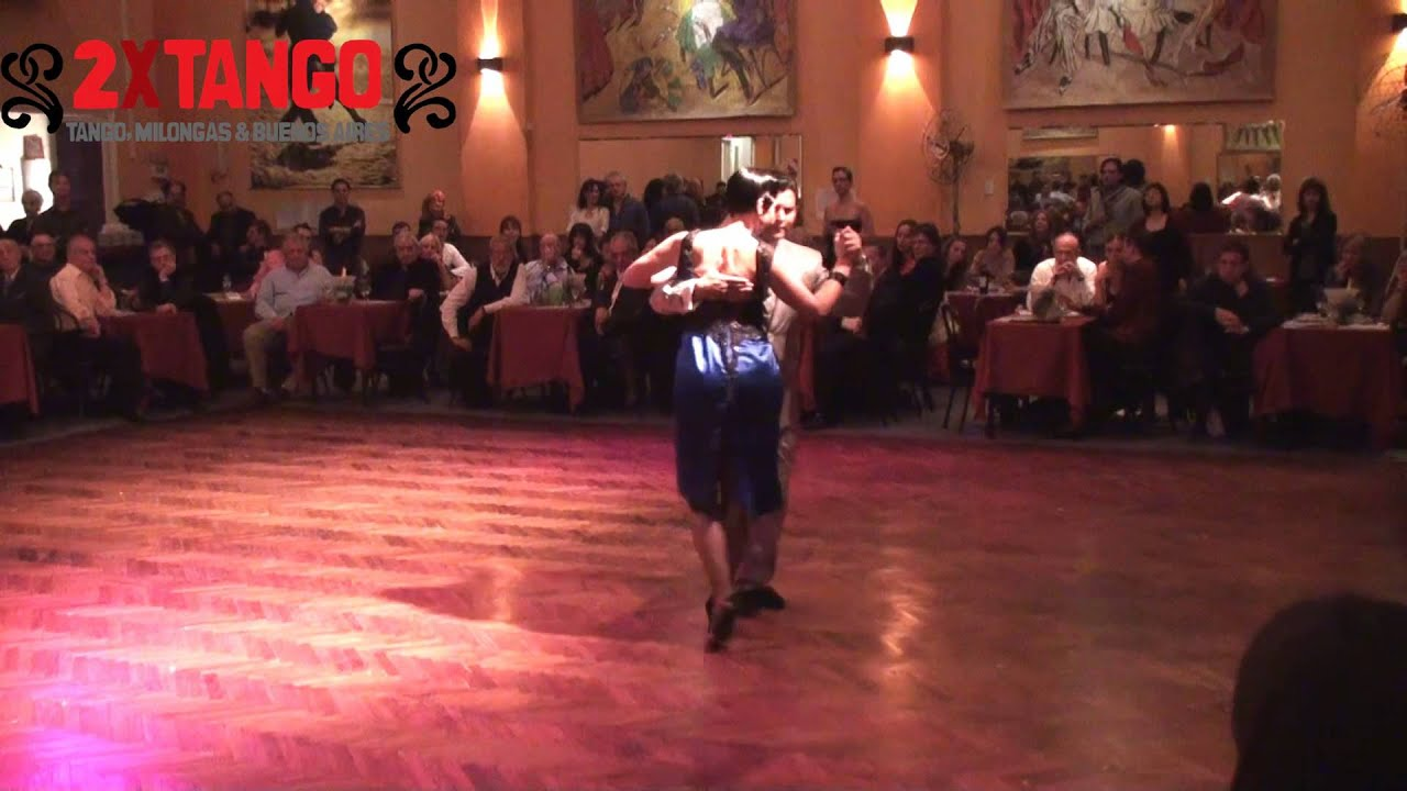 Carlos rodriguez brigita ur milonga en salon canning for A puro tango salon canning