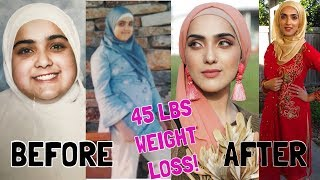 How I LOST 45 POUNDS (20 KGS)! My Weight Loss TRANSFORMATION! ~ Immy