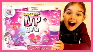 Making LIP BALM for Kids