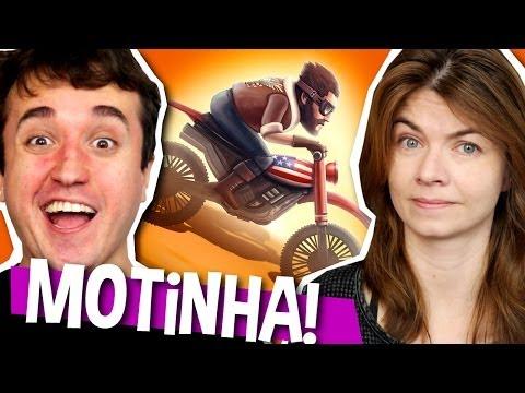 JOGUINHO DO MAL! - Bike Baron - aka. Jogo da Motinha (iPhone)