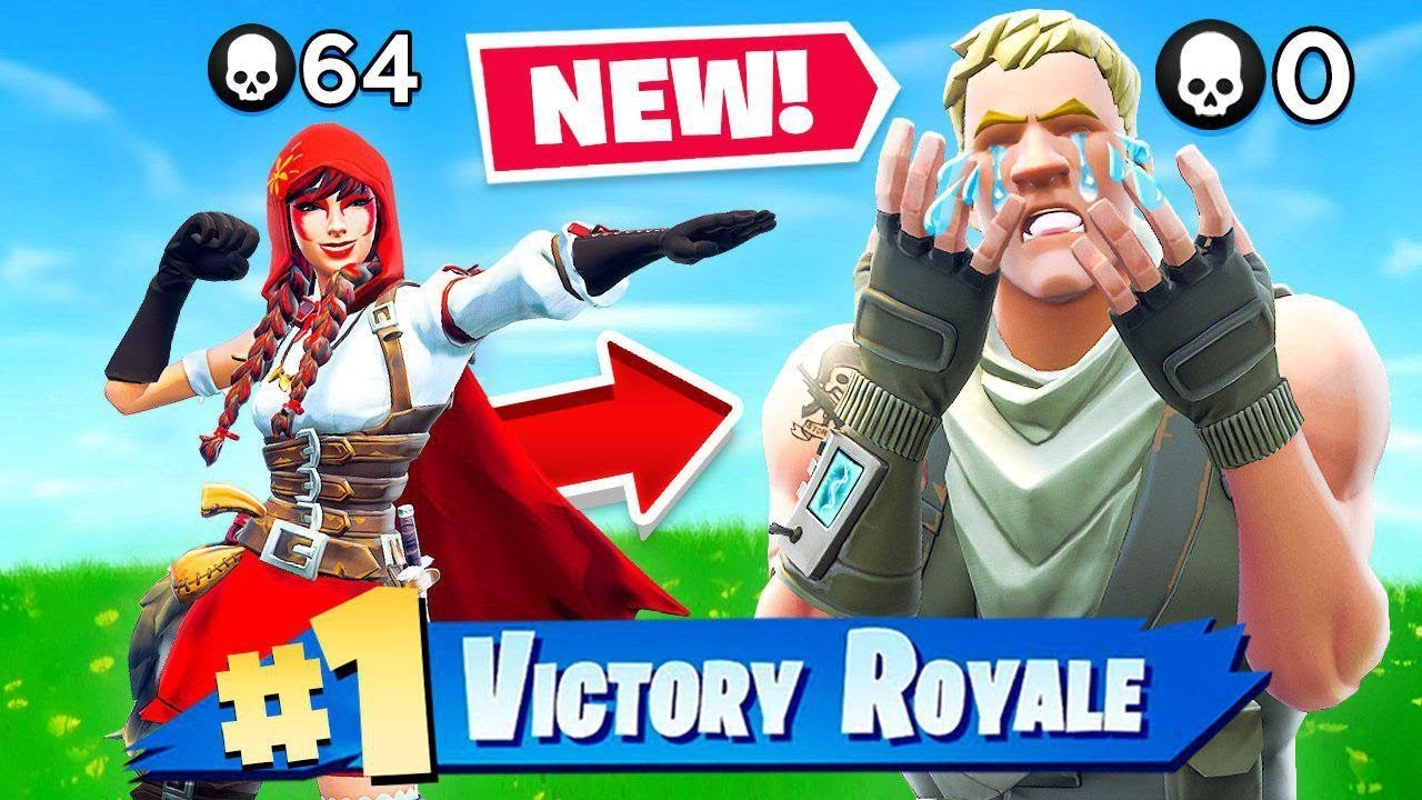 NOOB vs PRO *WORLD RECORD* ATTEMPT in Fortnite Battle Royale
