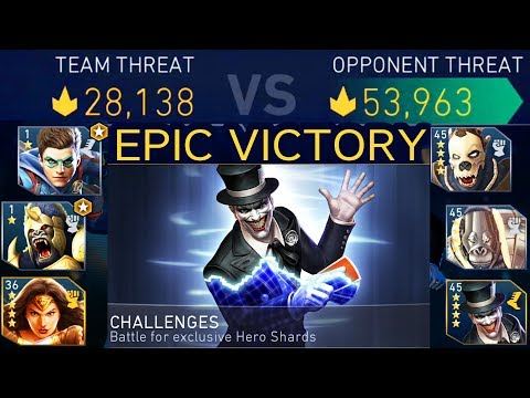 Injustice 2 Mobile. Last Laugh The Joker Challenge Review. EPIC HARD BATTLE. Injustice 2 IOS/Android