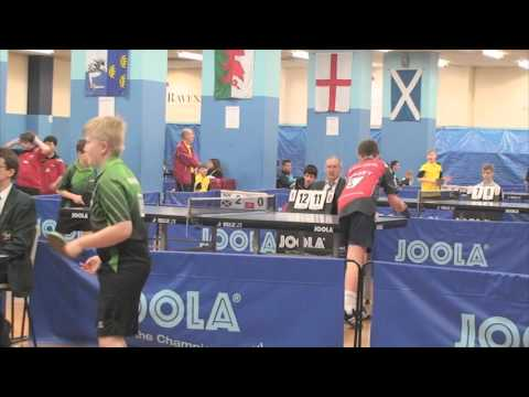 Table Tennis - Primary Schools International - Guernsey 2016