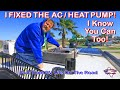 Fixing Our RV's Air Conditioner / Heat Pump | Easy DIY RV Tips & Maintenance