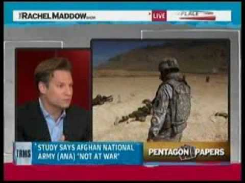 Rachel Maddow: New Pentagon Report Blows HUGE Hole In Obama's Afghanistan Withdrawal Plan