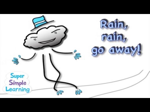 Rain, Rain, Go Away | Super Simple Songs video