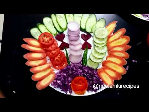 Super Easy Salad Decoration By neelamkirecipes