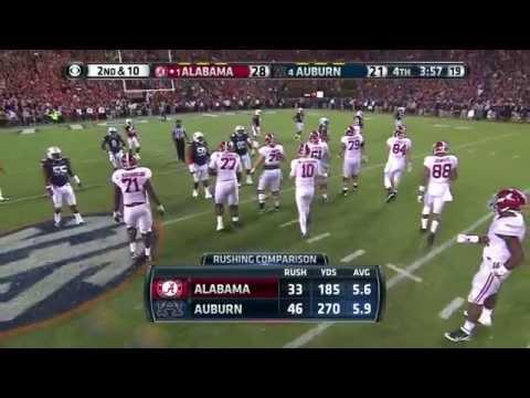 2013 Iron Bowl - #1 Alabama vs. #4 Auburn (HD)