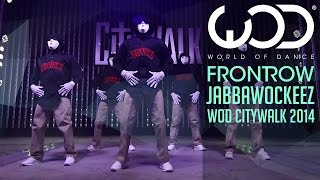 Jabbawockeez   World of Dance Live   FRONTROW   Citywalk 2014 #WODLIVE '14