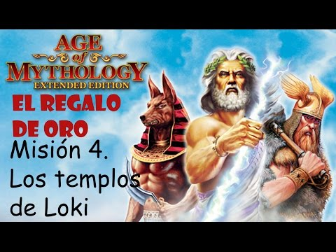 Age of Mythology: Extended Edition | El Regalo de Oro || 4. Los Templos de Loki | Titan |