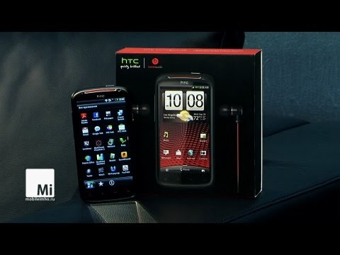 Video: HTC Sensation XE. Прокачанная сенсация.