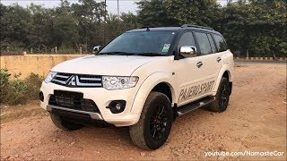 Mitsubishi Pajero Sport AT PB-PC Series 2017 | Real-life review