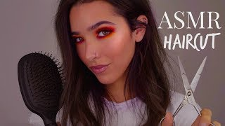 ASMR Haircut & Scalp Massage (+ Shampoo, Hair Inspection, Hair Brushing, Shaving...)