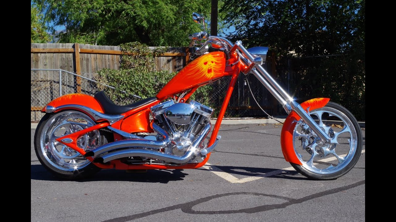 FOR SALE 2007 Big Dog K9 Softail Chopper Motorcycle 9,338 ...
