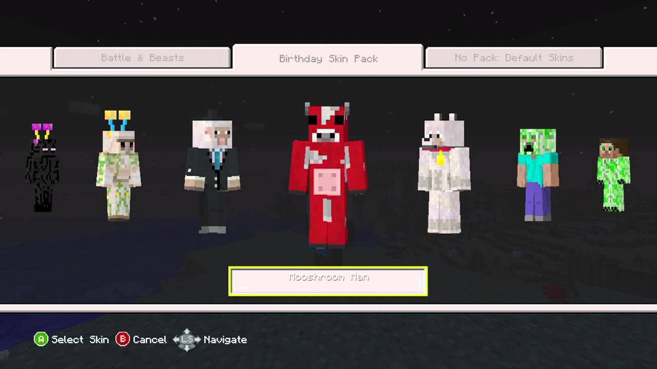 Minecraft Xbox 360 1st
