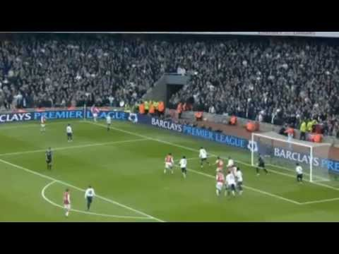 Nicklas Bendtner's Goal vs Tottenham coming from the bench after 2 Seconds | 2007/08