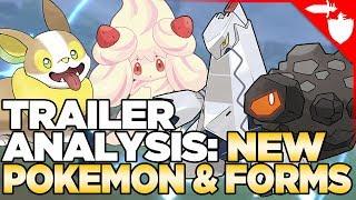 4 NEW Pokemon & Gigantamaxing in Pokemon Sword & Shield Trailer Analysis