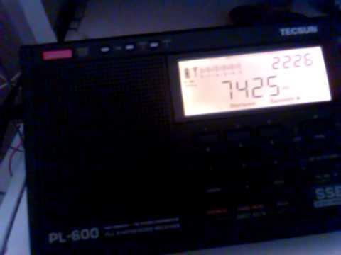 Radio China International 7425khz in Belgrade