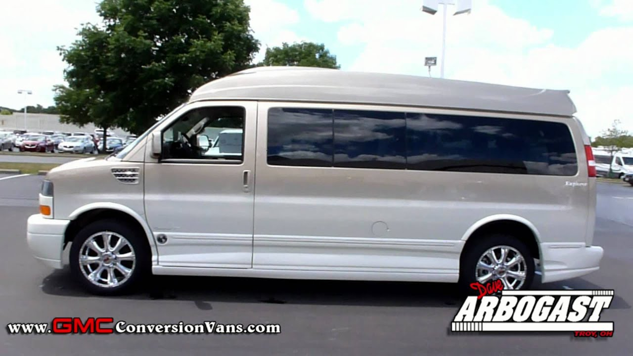 New 2012 Gmc Explorer High Top 9 Passenger Conversion Van