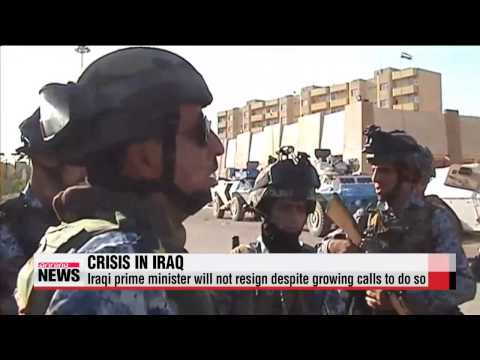 Iraqi PM refuses to step down amid militant threat