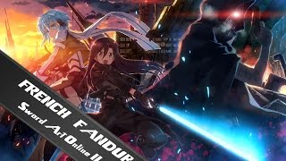 Sword Art Online II : Kirito & Sinon VS Death Gun - French Fandub
