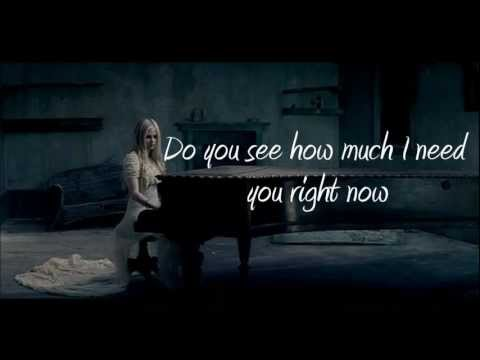 Avril Lavigne - When You're Gone (with Lyrics) Hd video