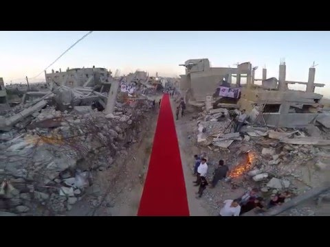 "Karama Gaza Human Rights Film Festival ""Red Carpet"""