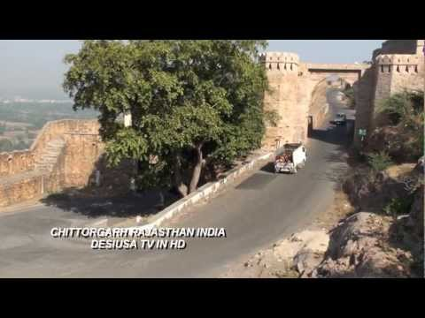 Fort Of Chittorgarh Rajasthan India In Hd video