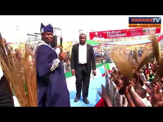 "Jonathan Is A ""Gone-r"" -Rotimi Amaechi; Shows Off Shoki Dance with Davido"