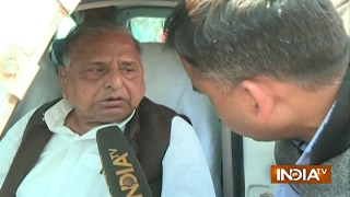 Exclusive: Akhilesh will Become CM and Shivpal will Join his Cabinet, says Mulayam Singh