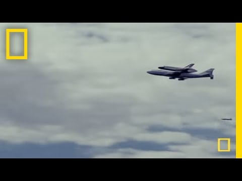 Shuttle Discovery: Final Flight Over DC