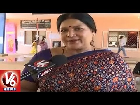 Karnataka Assembly Polls 2018: Face To Face With Congress MLC Jayamala | V6 News