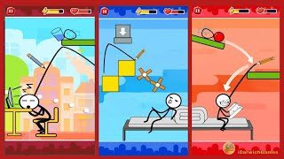 Funny Ball : Popular draw line puzzle game - Gameplay (iOS & Android)