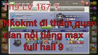 NMT   Clash of clans   Nkokmt Đi thăm quan học hỏi clan nổi tiếng