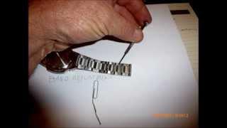 Casio watch adjustment in simple steps.wmv