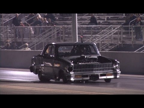 Twin Turbo Chevy ll Nova CRASH