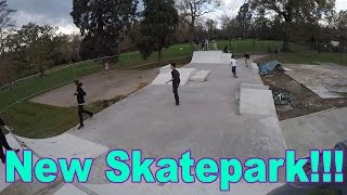 DITL#6| New Skatepark and Weird Ankle Injury