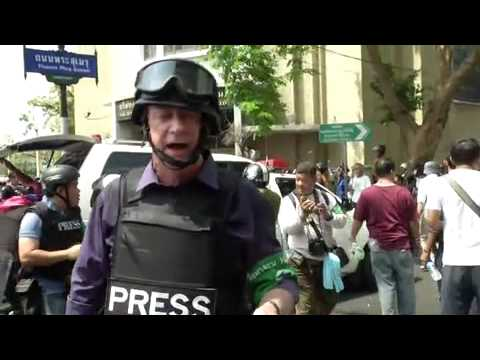 CCTV News Bangkok gun battle