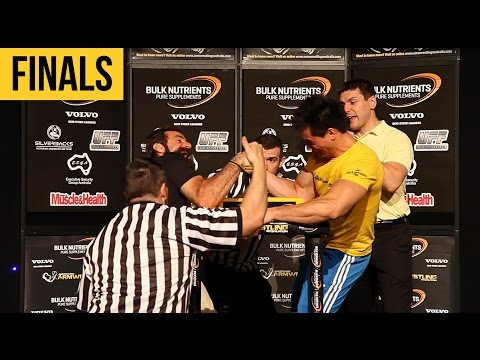 2014 National Armwrestling Championships - FINALS