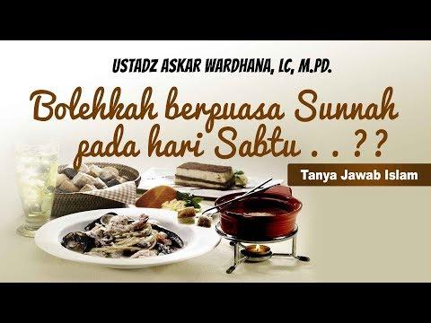 Tanya jawab Islam : Bolehkah Berpuasa sunnah Asyuro hari sabtu? - Ustadz Askar Wardhana, Lc, M.Pd