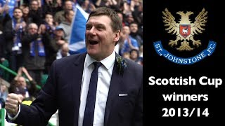 When St. Johnstone won the Scottish Cup!