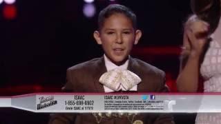 Download Lagu Isaac coquetea con 'El Mil Amores' en LVK  | La Voz Kids 2016 Gratis STAFABAND