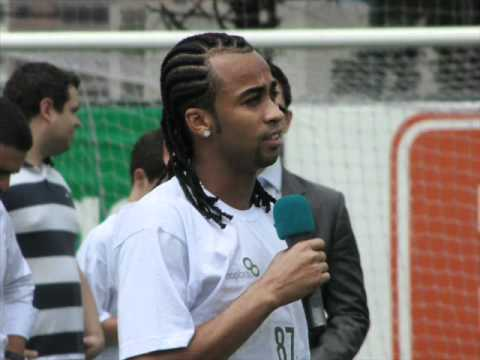 Apresentação do Wesley no Palmeiras.