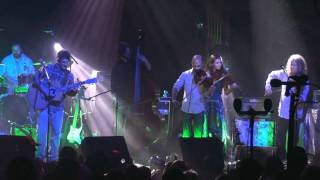 "Railroad Earth - ""Genesis"" encore with B. Law & A. Galblum 1-1-11 SBD HD tripod"