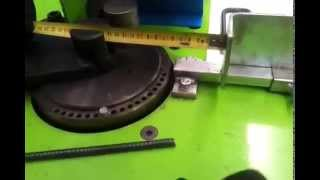 How to fold special pieces with stirrup bender SIMA Star 16